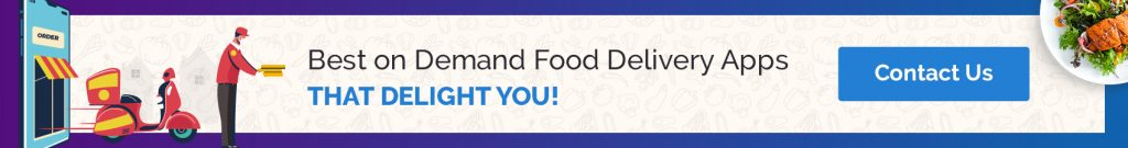 Best on-demand food delivery apps!